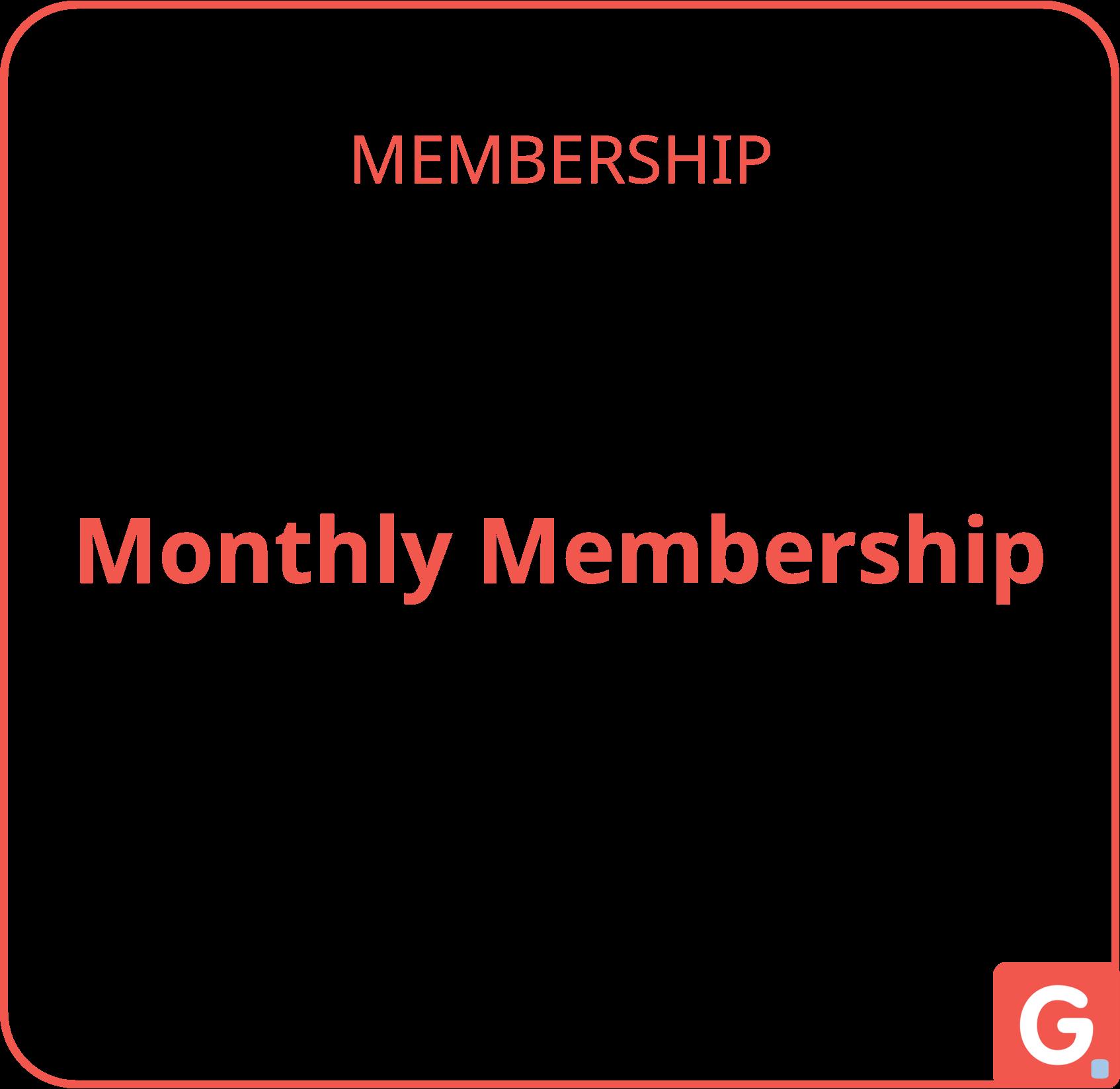 MONTHLY MEMBERSHIP | Gpl.ONE